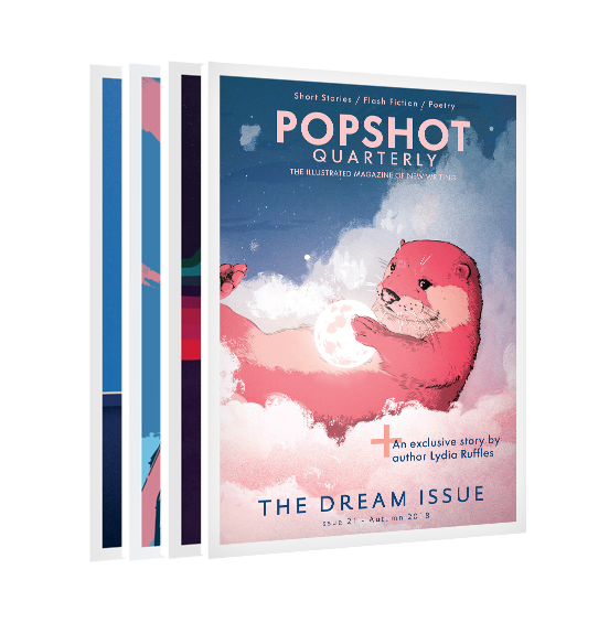 Four issues of Popshot magazine from just £20